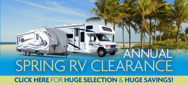 Clearance RVs for Sale