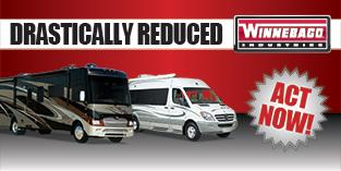 Reduced Winnebago RVs