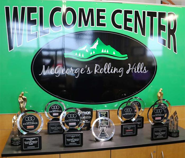 McGeorge's Awards